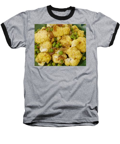Curried Cauliflower Baseball T-Shirt by Science Source