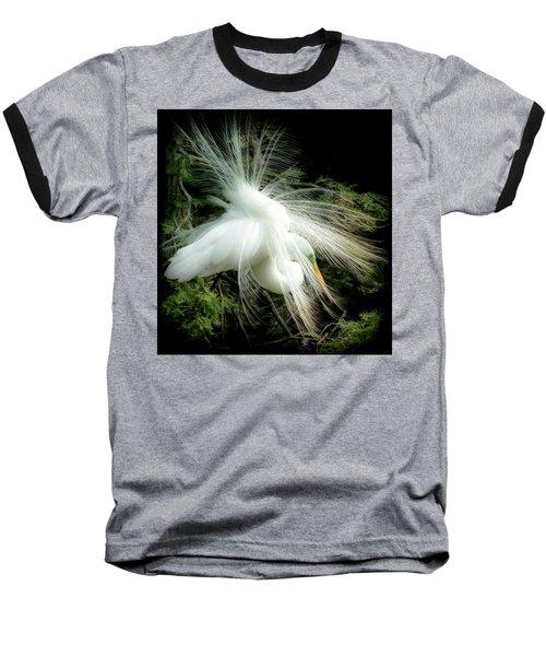 Elegance Of Creation Baseball T-Shirt by Karen Wiles