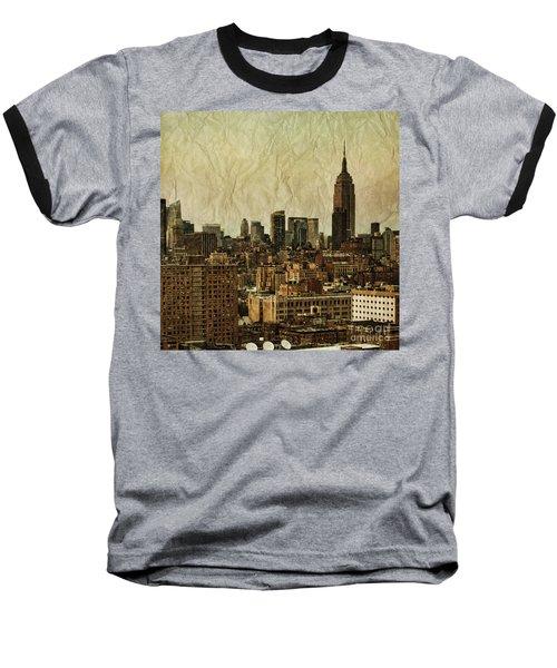Empire Stories Baseball T-Shirt by Andrew Paranavitana