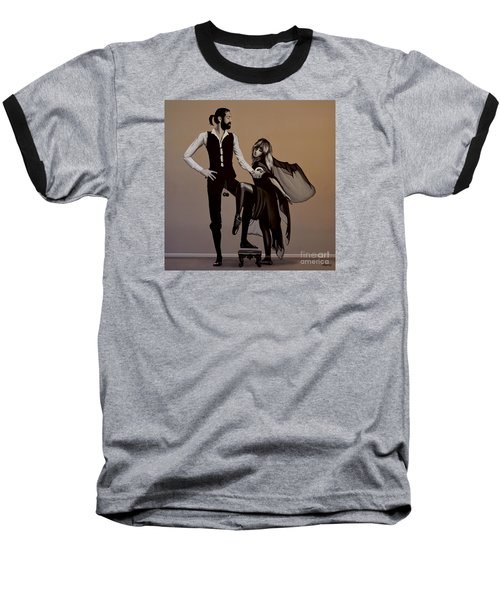 Fleetwood Mac Rumours Baseball T-Shirt by Paul Meijering