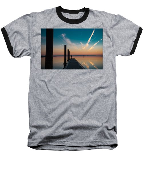 Baseball T-Shirt featuring the photograph Follow Me by Thierry Bouriat