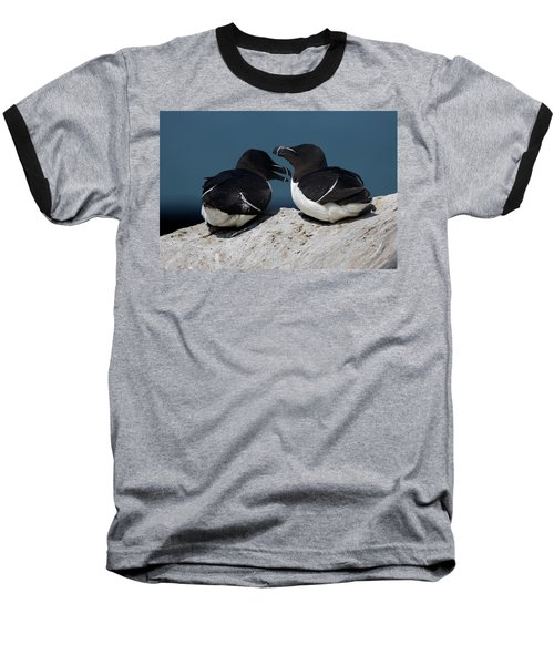 Gossip Mongers Baseball T-Shirt by Brent L Ander
