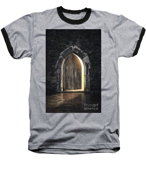Gothic Light Baseball T-Shirt by Carlos Caetano
