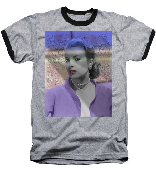 Grace Kelly - Featured In Comfortable Art Group Baseball T-Shirt by EricaMaxine  Price
