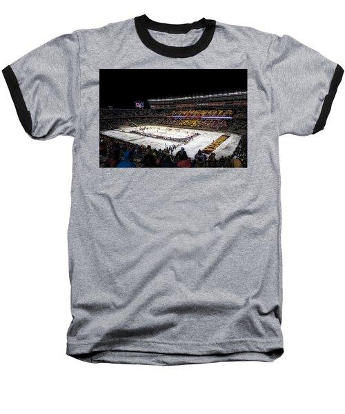 Hockey City Classic Baseball T-Shirt by Tom Gort