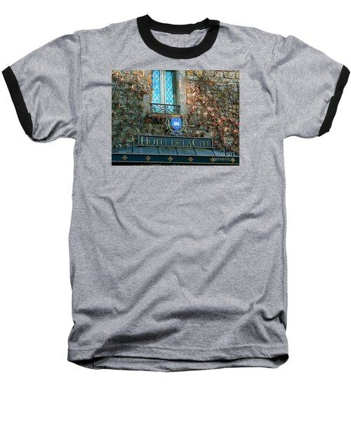 Hotel De La Cite Baseball T-Shirt by France  Art