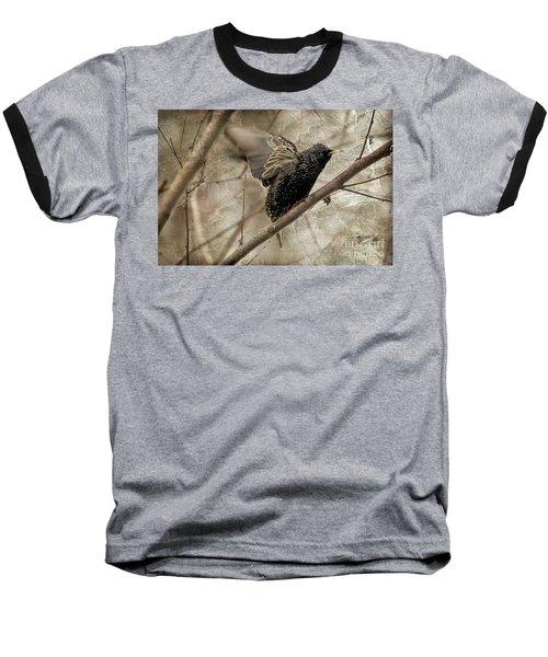I'm Outta Here Baseball T-Shirt by Lois Bryan