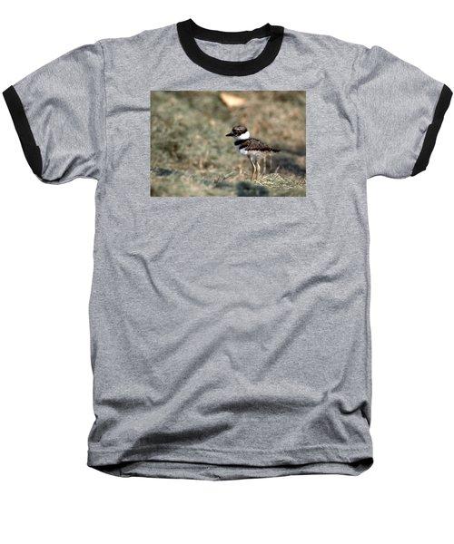Its A Killdeer Babe Baseball T-Shirt by Skip Willits