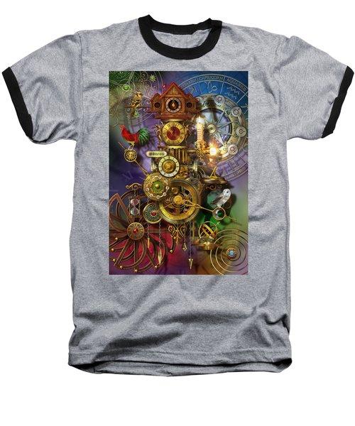 Its About Time Baseball T-Shirt by Ciro Marchetti