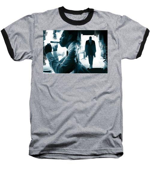 Jay-z Artwork 3 Baseball T-Shirt by Sheraz A