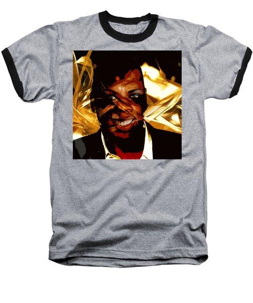 Jay-z Knowles Baseball T-Shirt by Jean raphael Fischer