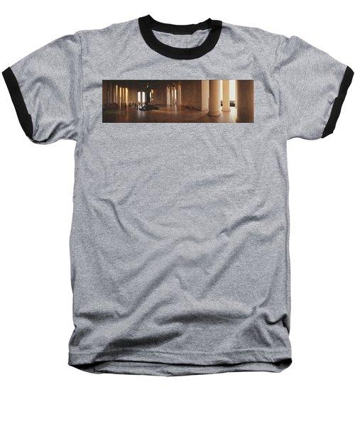 Jefferson Memorial Washington Dc Usa Baseball T-Shirt by Panoramic Images