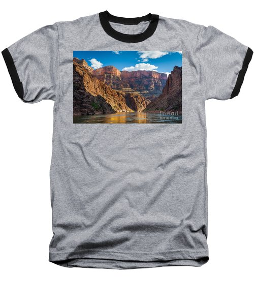 Journey Through The Grand Canyon Baseball T-Shirt by Inge Johnsson
