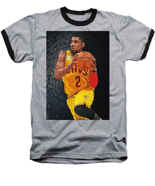 Kyrie Irving Baseball T-Shirt by Taylan Soyturk