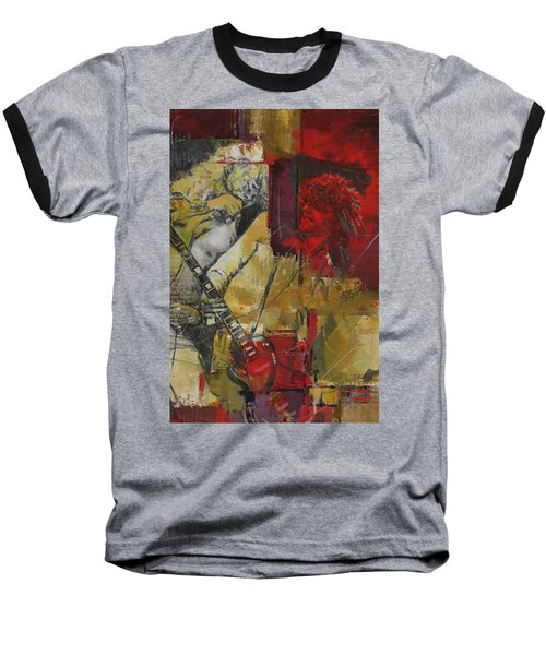 Led Zeppelin Baseball T-Shirt by Corporate Art Task Force