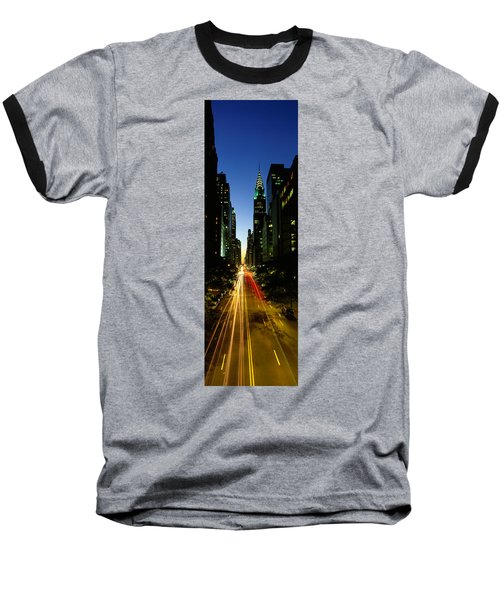 Lexington Avenue, Cityscape, Nyc, New Baseball T-Shirt by Panoramic Images