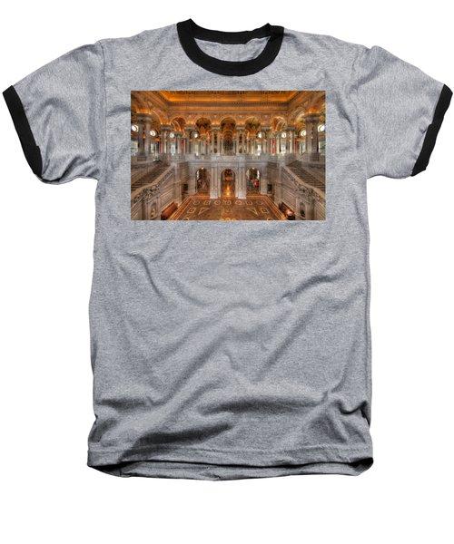 Library Of Congress Baseball T-Shirt by Steve Gadomski