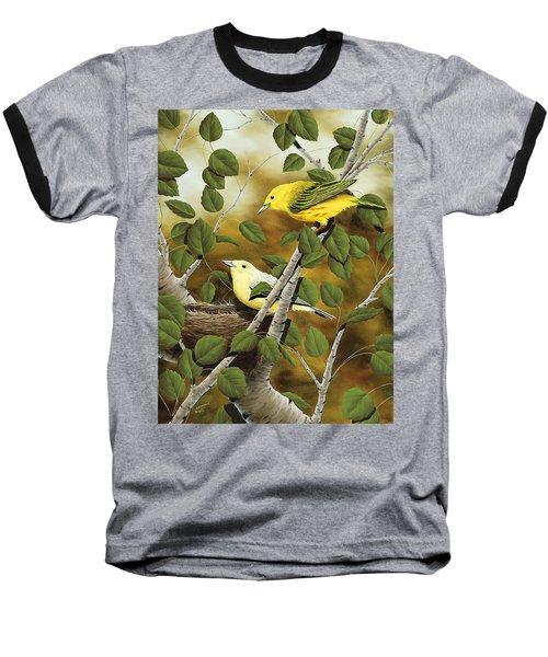 Love Nest Baseball T-Shirt by Rick Bainbridge