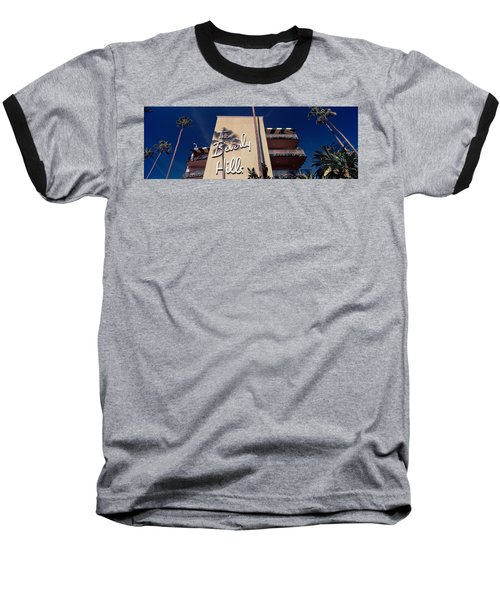 Low Angle View Of A Hotel, Beverly Baseball T-Shirt by Panoramic Images