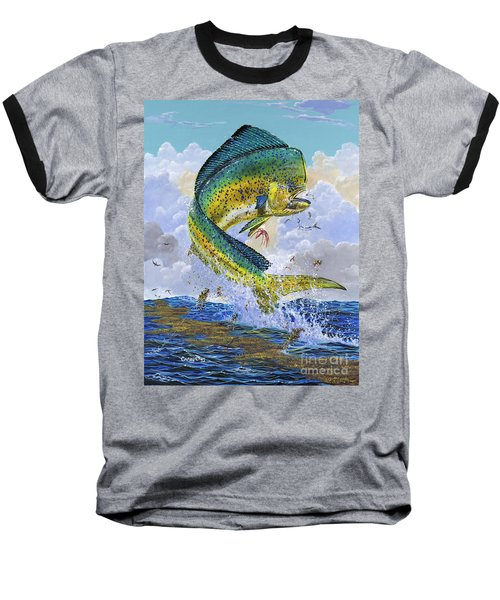 Mahi Hookup Off0020 Baseball T-Shirt by Carey Chen