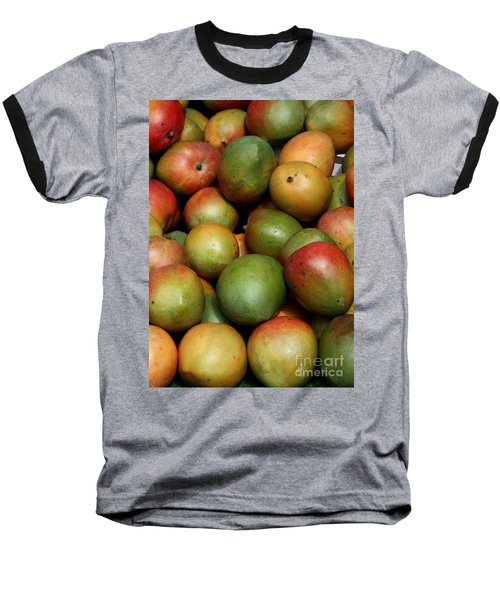 Mangoes Baseball T-Shirt by Carol Groenen