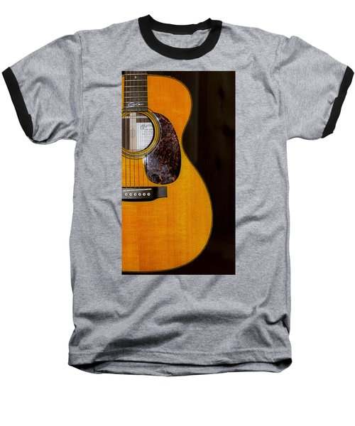 Martin Guitar  Baseball T-Shirt by Bill Cannon