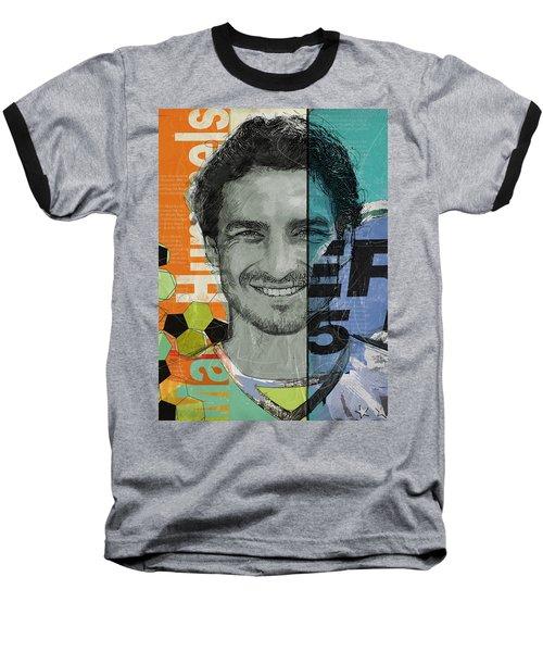 Mats Hummels - B Baseball T-Shirt by Corporate Art Task Force