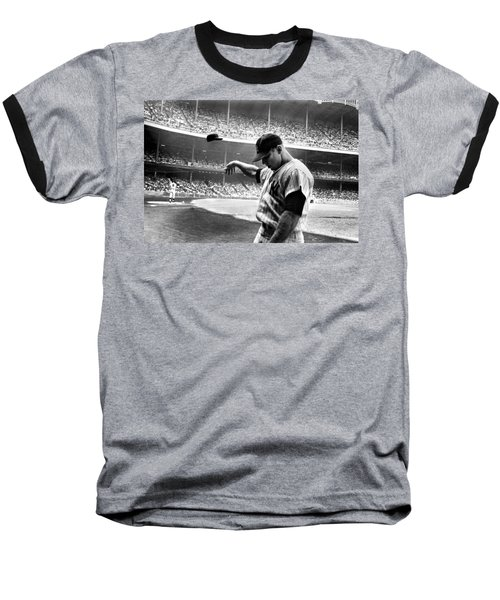 Mickey Mantle Baseball T-Shirt by Gianfranco Weiss
