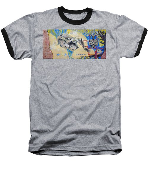 Minotaur Baseball T-Shirt by Derrick Higgins