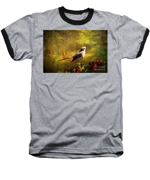 Mockingbird Have You Heard... Baseball T-Shirt by Lianne Schneider