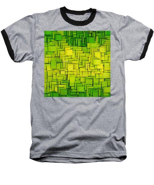 Modern Abstract Xxxiii Baseball T-Shirt by Lourry Legarde