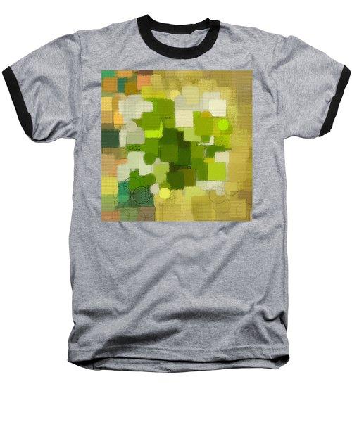 Modern Abstract Xxxv Baseball T-Shirt by Lourry Legarde