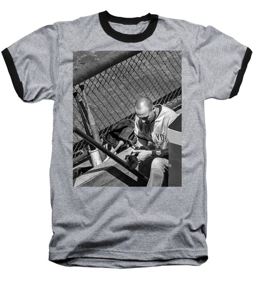 Moment Of Reflection Baseball T-Shirt by Tom Gort