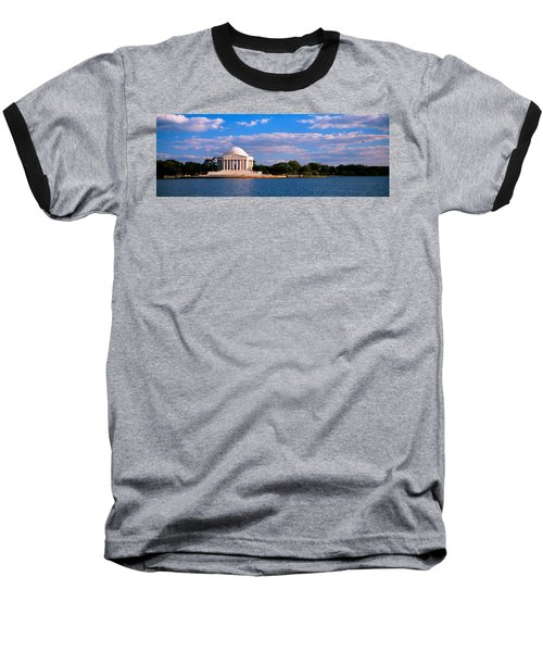 Monument On The Waterfront, Jefferson Baseball T-Shirt by Panoramic Images