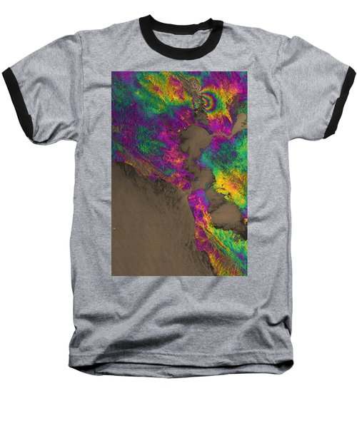 Baseball T-Shirt featuring the photograph Napa Valley Earthquake, 2014 by Science Source