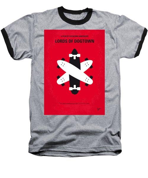 No188 My The Lords Of Dogtown Minimal Movie Poster Baseball T-Shirt by Chungkong Art
