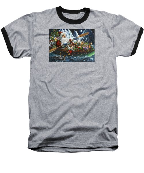 Northern Passage Baseball T-Shirt by Lynn Bywaters