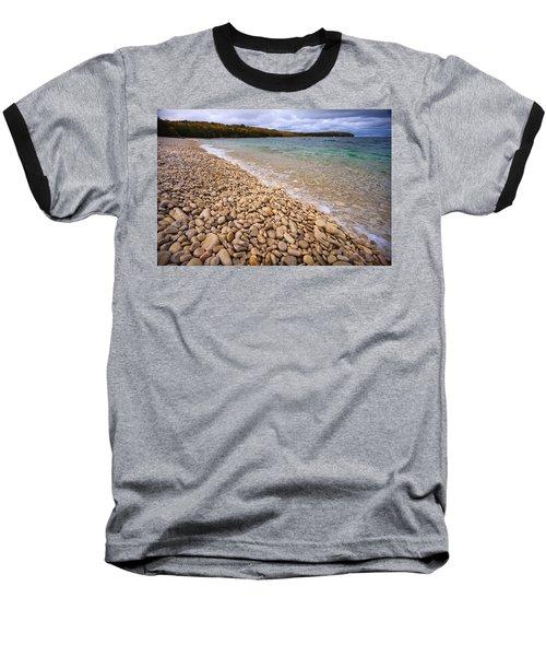 Northern Shores Baseball T-Shirt by Adam Romanowicz