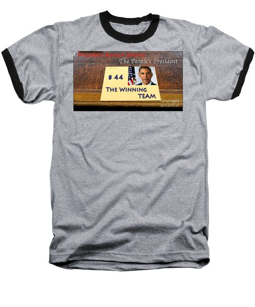 Number 44 - The Winning Team Baseball T-Shirt by Terry Wallace