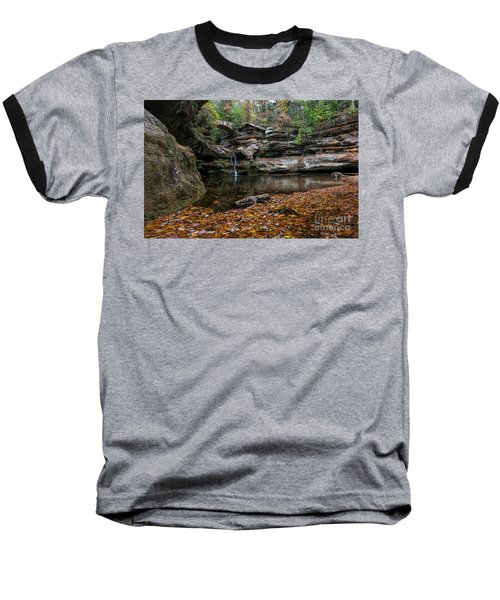 Old Mans Cave Baseball T-Shirt by James Dean