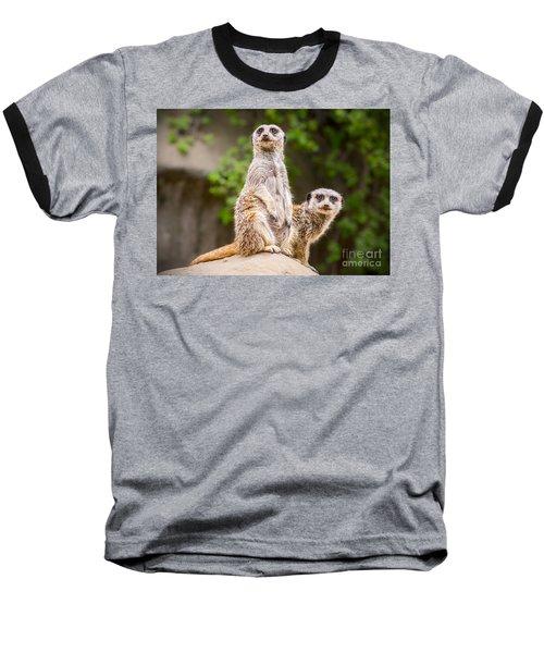 Pair Of Cuteness Baseball T-Shirt by Jamie Pham