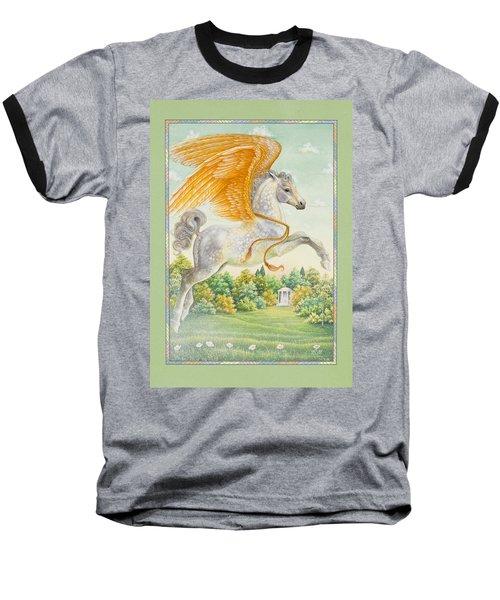 Pegasus Baseball T-Shirt by Lynn Bywaters