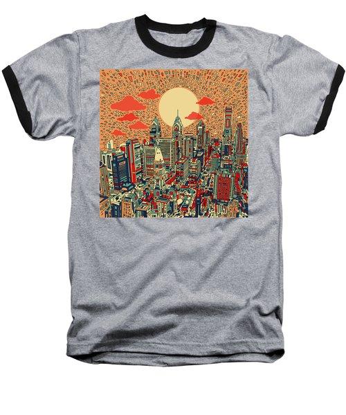Philadelphia Dream Baseball T-Shirt by Bekim Art