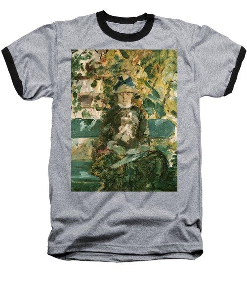 Portrait Of Adele Tapie De Celeyran Baseball T-Shirt by Henri de Toulouse-Lautrec