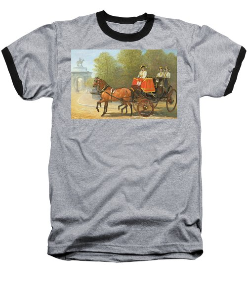 Returning From Her Majestys Drawing Room Baseball T-Shirt by Alfred Corbould
