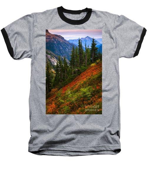 Sahale Arm Baseball T-Shirt by Inge Johnsson