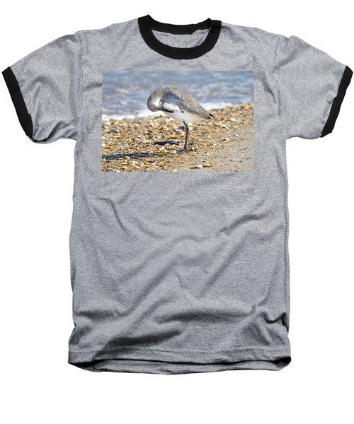 Sandpiper Baseball T-Shirt by Betsy Knapp