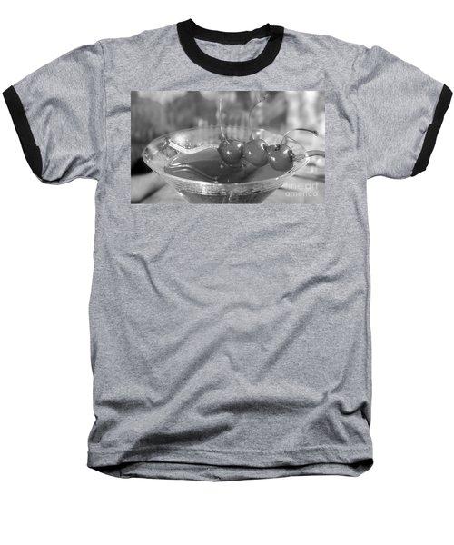 Shirley Temple Drink Baseball T-Shirt by Iris Richardson