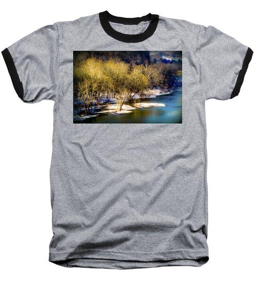 Snowy River Baseball T-Shirt by Karen Wiles