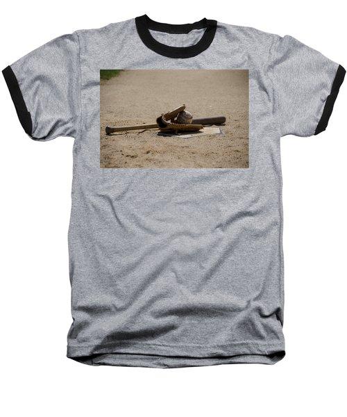 Softball Baseball T-Shirt by Bill Cannon